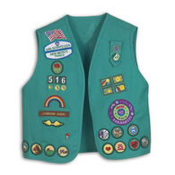 Girl Scouts Official Junior Vest