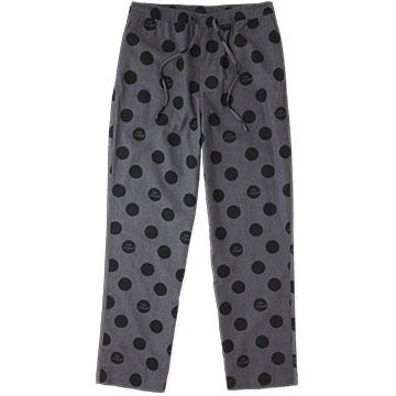 Life is Good Men's Slate Grey Dot Classic Sleep Pant