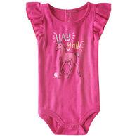 Carhartt Infant Girl's Hey Ya'll Short-Sleeve Bodyshirt