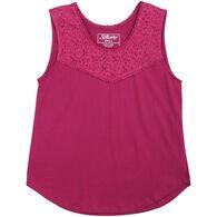 Stillwater Supply Women's Lace Jersey Tank Top