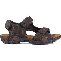 Nunn Bush Men's Rio Bravo Three-Strap River Sandal