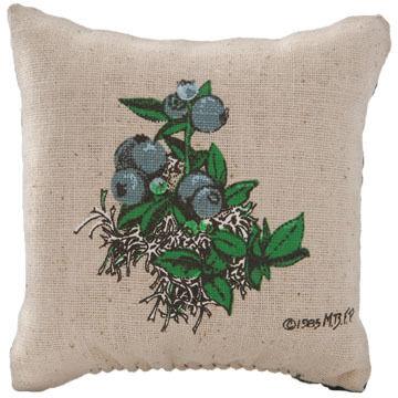"""Maine Balsam Fir 4"""" x 4"""" Blueberry Balsam Pillow"""