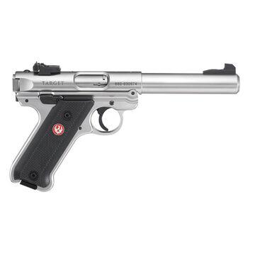 Ruger Mark IV Target Stainless 22 LR 5.5 10-Round Pistol