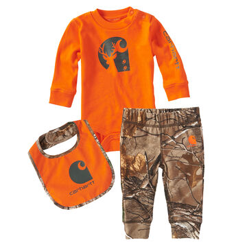 Carhartt Infant/Toddler Boys Camo Pant Gift Set