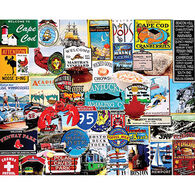 White Mountain Jigsaw Puzzle - I Love New England