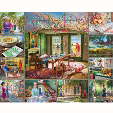 White Mountain Jigsaw Puzzle - Curse Of Blackwood Hall