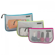 Travelon Assorted Piped Pouch Set
