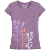 Supermaggie Women's Milk Thistle Short-Sleeve T-Shirt
