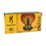 Browning 40 S&W 165 Grain FMJ Handgun Ammo (50)