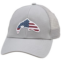 Simms Small Fit USA Trout Trucker Hat