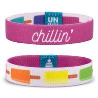 Unselfie Women's Chillin' Pattern Wrist Band