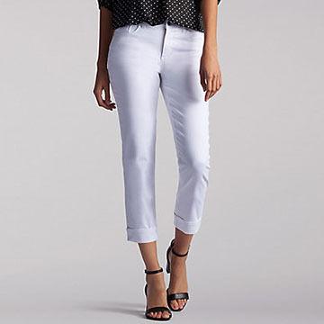 Lee Women's Easy Fit Cameron Crop Pant