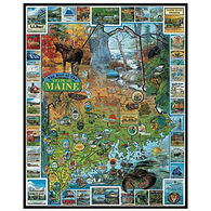 White Mountain Jigsaw Puzzle - Maine