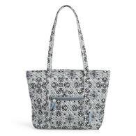 Vera Bradley Recycled Cotton Small Vera Tote Bag
