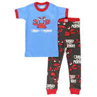 Lazy One Toddler Crabby PJ Set