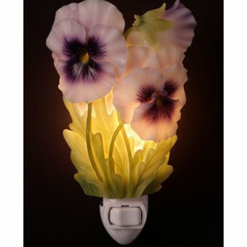 Ibis & Orchid Design Pansy Nightlight