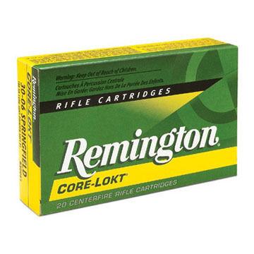 Remington Core-Lokt 280 Remington 165 Grain SP Rifle Ammo (20)