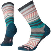 SmartWool Women's Jovian Stripe Medium Cushion Crew Sock