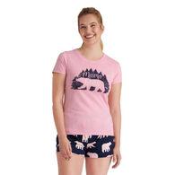 Hatley Little Blue House Women's Mama Bear Woods Sleepshirt