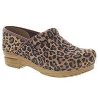 Dansko Women's Professional Leopard Suede Clog