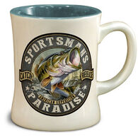 American Expedition Sportsman Bass Diner Mug