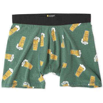 Life is Good Mens LIG Beer Classic Boxer Brief