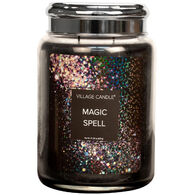 Village Candle Large Glass Jar Candle - Magic Spell