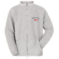 ESY Men's Maine Flag Full Zip Sweatshirt