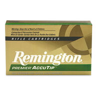 Remington Premier 204 Ruger 40 Grain AccuTip-V Boat-Tail Rifle Ammo (20)