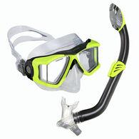 U.S. Divers Children's View Purge Jr. LX + Laguna Dry Snorkel Set