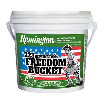 Remington 223 Remington 55 Grain Ammo Freedom Bucket (300)