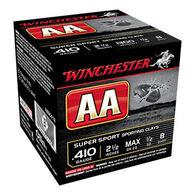"""Winchester AA Target 410 GA 2-1/2"""" 1/2 oz. #8 Shotshell Ammo (25)"""