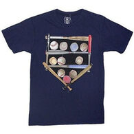 Wes & Willy Boys' Baseball Diamond Short-Sleeve T-Shirt