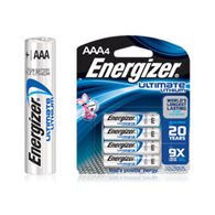 Energizer Ultimate Lithium AAA Battery - 2 or 4 Pk.