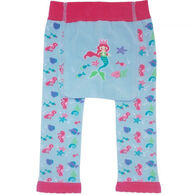 Huggalugs Infant/Toddler Girl's Mermaid Knit Pant