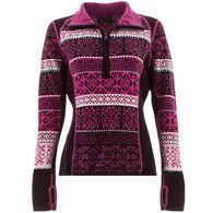 Icelandic Design Women's Hayley Half-Zip Sweater