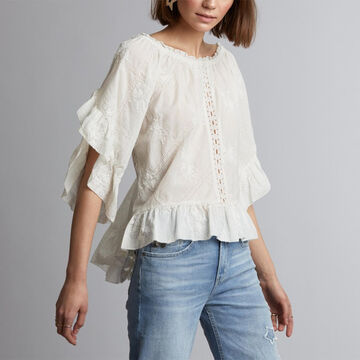 Odd Molly Womens Clever Heart Blouse