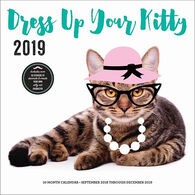 Dress Up Your Kitty 2019 Wall Calendar by Editors of Rock Point