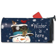 MailWraps Winter Is Here Mailbox Cover