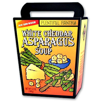 Plentiful Pantry White Cheddar Asparagus Soup