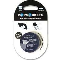 PopSockets Dog Is Good It's All Fun & Games Mobile Device PopGrip