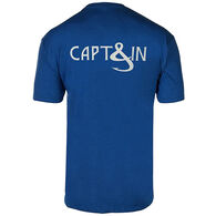 Hook & Tackle Men's Captain Hook Fishing Short-Sleeve T-Shirt