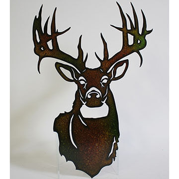 Slifka Sales Co Metal Big Buck Wall Art