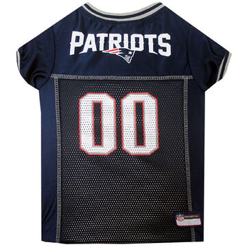 Pets First New England Patriots Mesh Dog Jersey