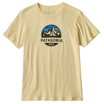 Patagonia Mens Fitz Roy Scope Organic Cotton Short-Sleeve T-Shirt