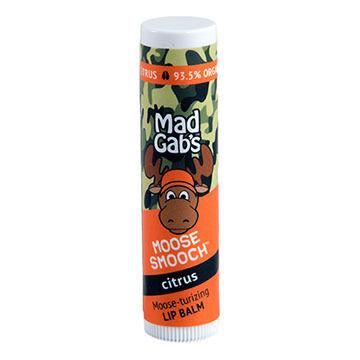 Mad Gab's Citrus Camo Moose Smooch Lip Balm