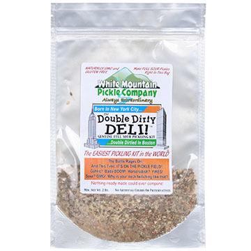 White Mountain Pickle Co. Double Dirty Deli Full Sour Pickling Kit, 2 oz.