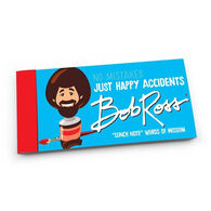 Bob Ross No Mistakes Just Happy Accidents Lunch Notes by Papersalt