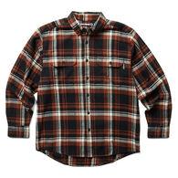 Wolverine Men's Glacier Heavyweight Flannel Long-Sleeve Shirt