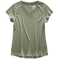 The North Face Women's HyperLayer FlashDry V-Neck Short-Sleeve T-Shirt